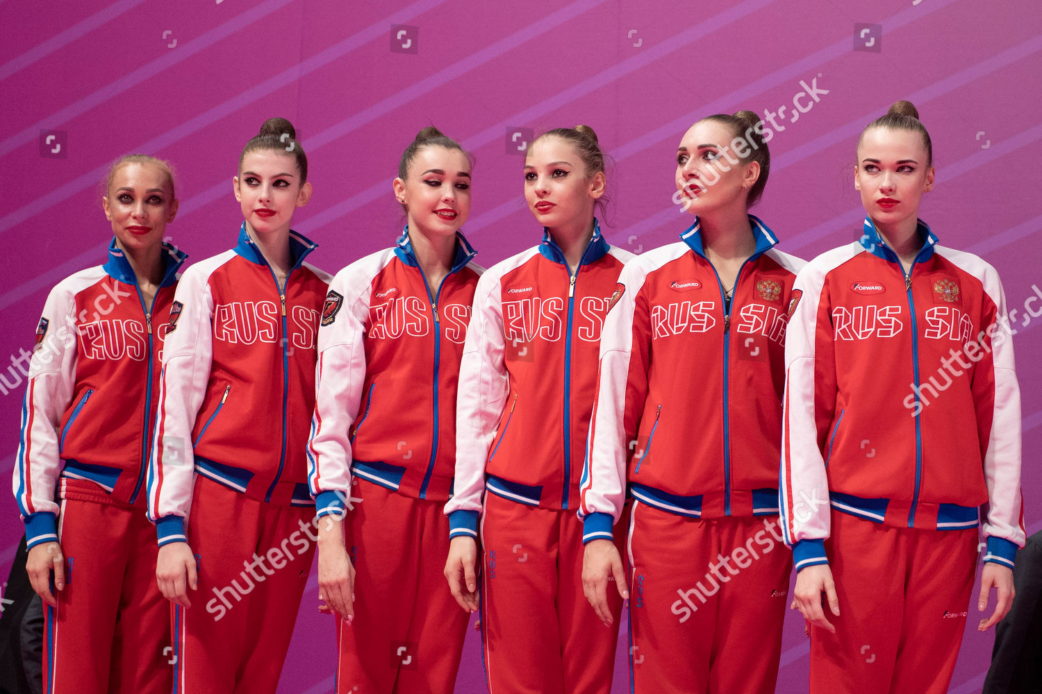 Russia team group Editorial Stock Photo - Stock Image | Shutterstock