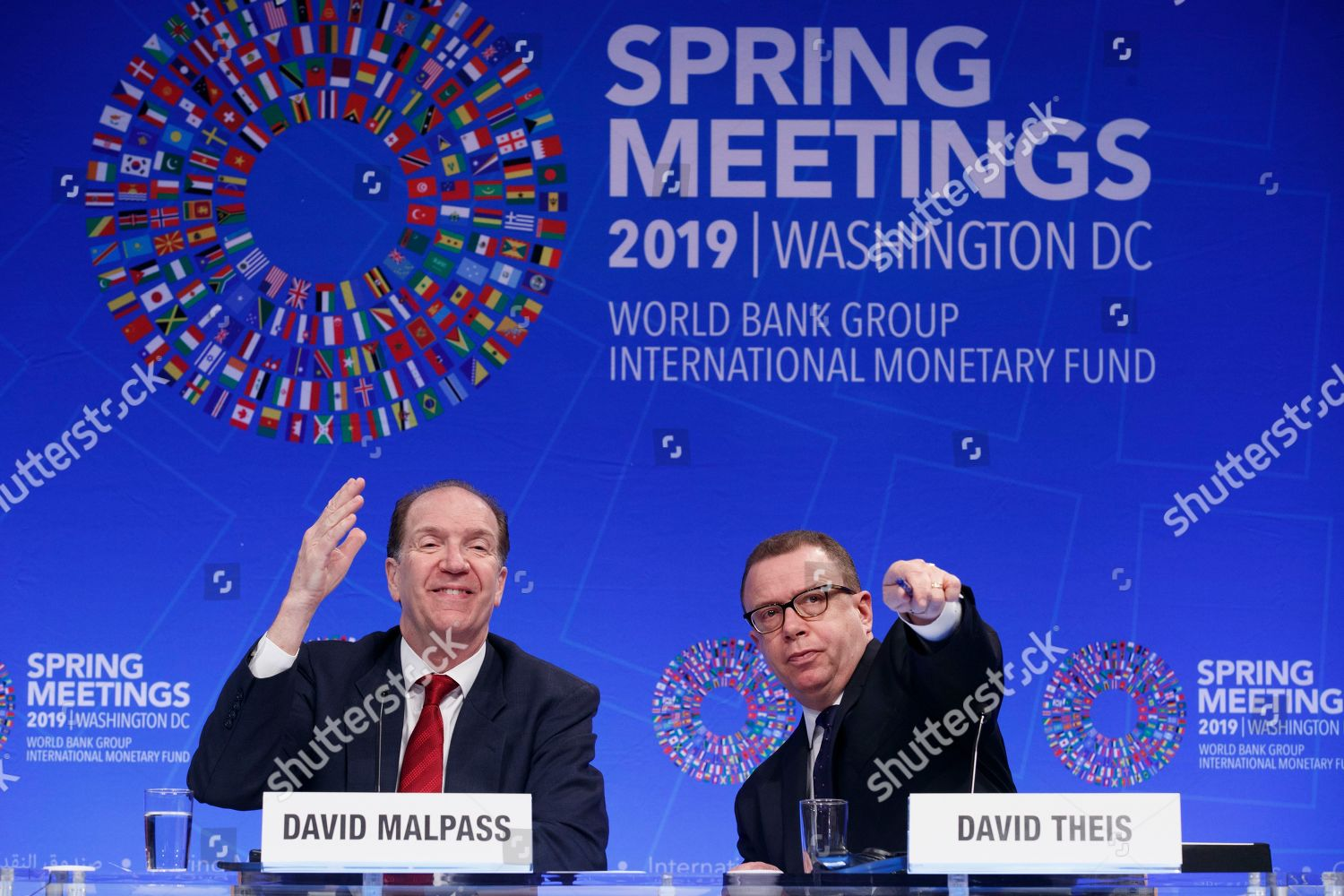 World Bank President David Malpass L World Editorial Stock