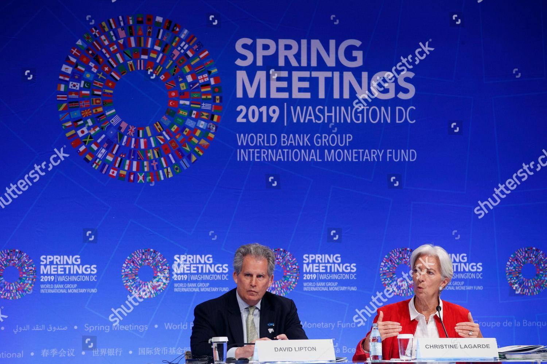IMF Managing Director Christine Lagarde R IMF Editorial