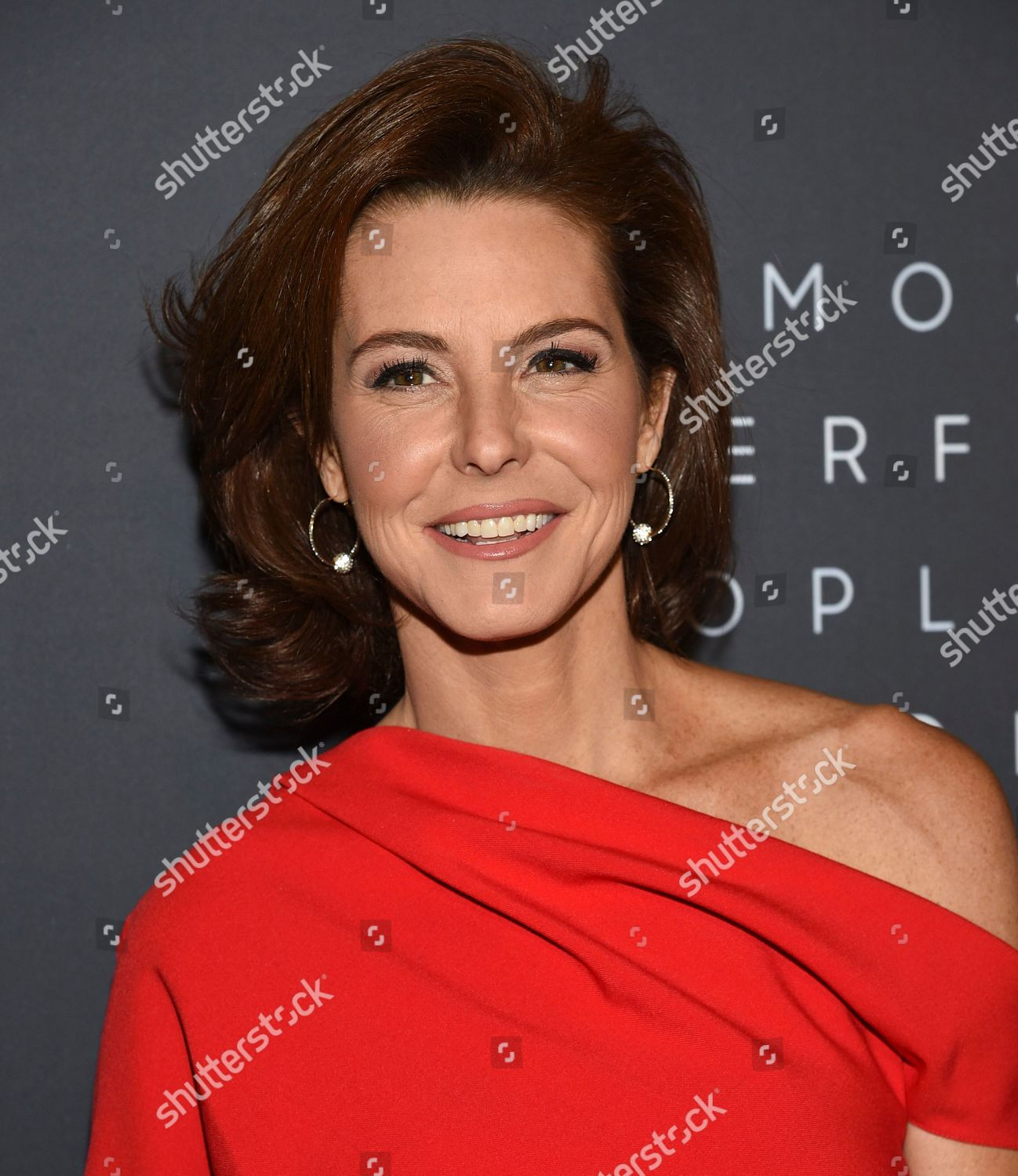 MSNBC news anchor Stephanie Ruhle attends Hollywood
