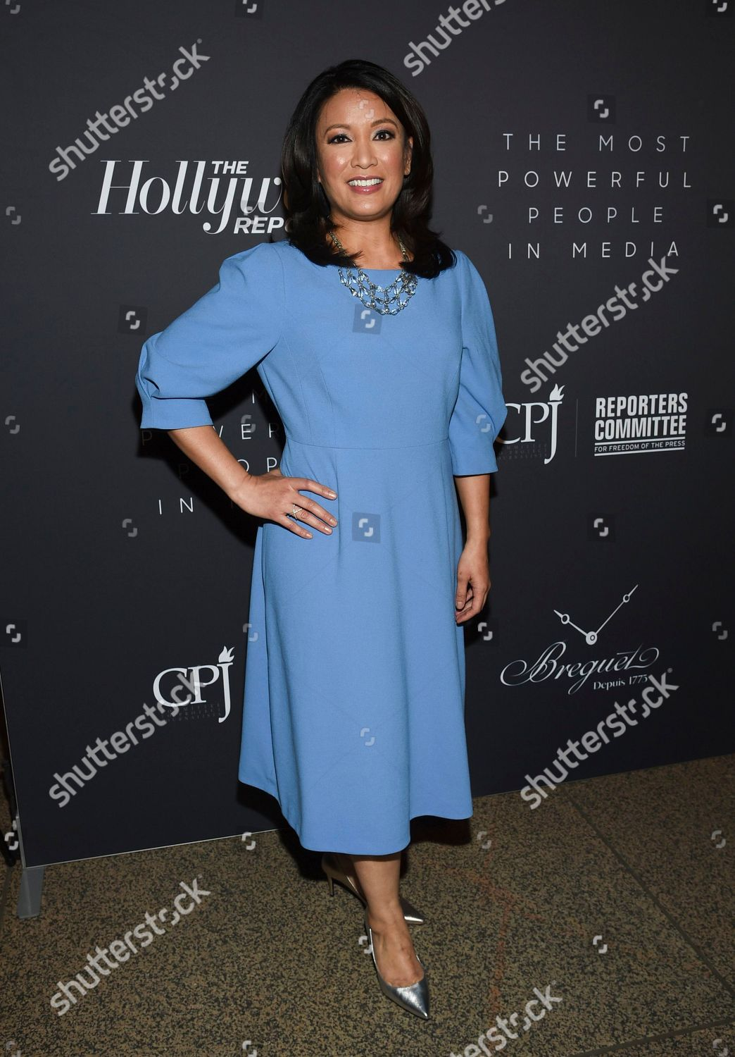 Cbs News Anchor Elaine Quijano Attends Hollywood Editorial Stock Photo Stock Image Shutterstock