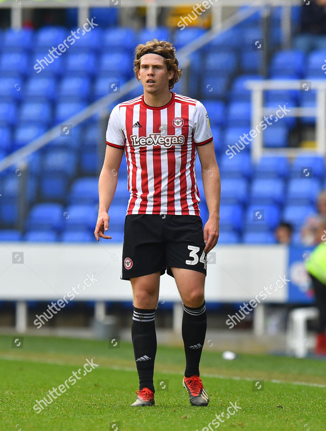 4a97c6b0 Mads Bech Sorensen 34 Brentford during EFL Editorial Stock Photo ...