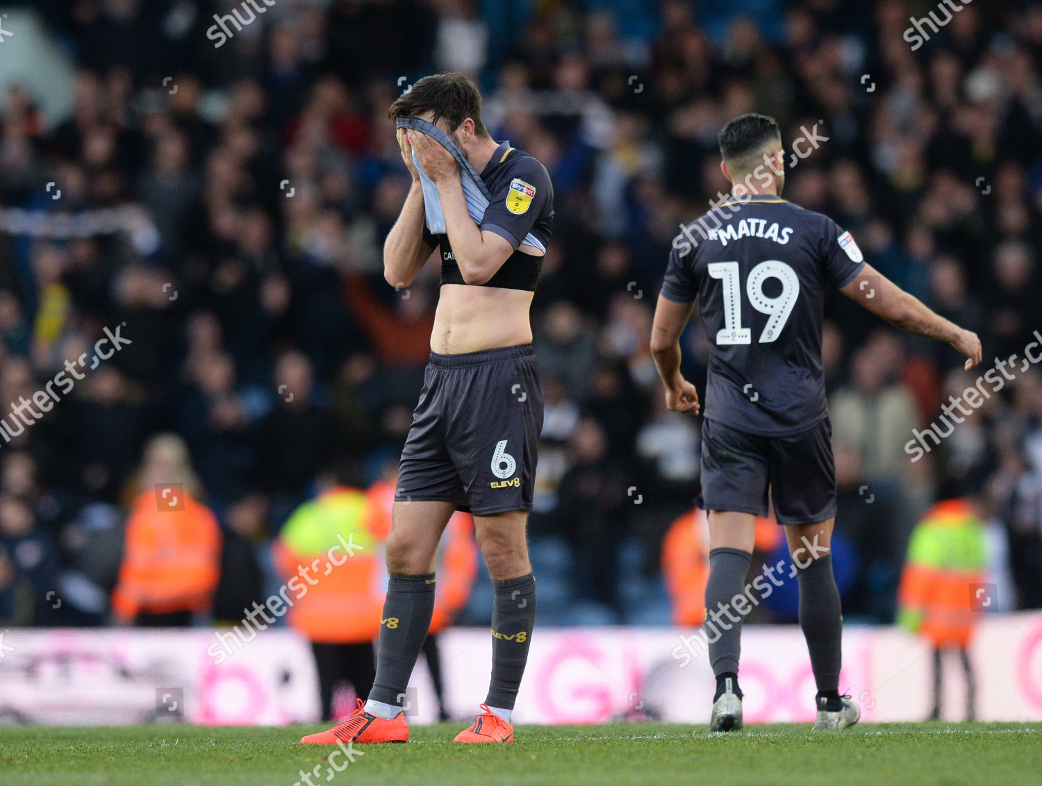 wholesale dealer 4ebc4 2b638 Morgan Fox Sheffield Wednesday dejected after final ...