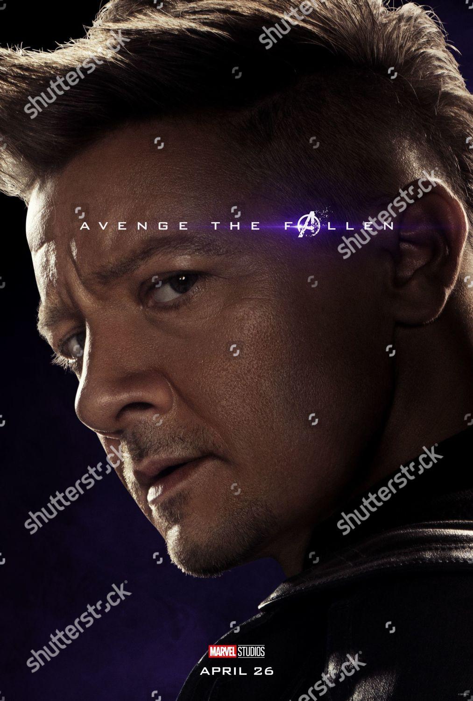 Avengers Endgame 2019 Poster Art Jeremy Renner Editorial Stock Photo Stock Image Shutterstock