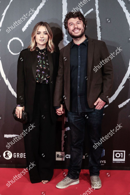 Greta Scarano fiance Sydney Sibilia Redaktionelles Stockfoto – Stockbild