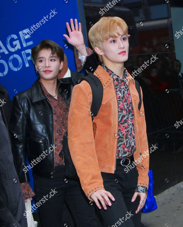 NCT 127 Kpop group Good Morning America Editorial Stock Photo