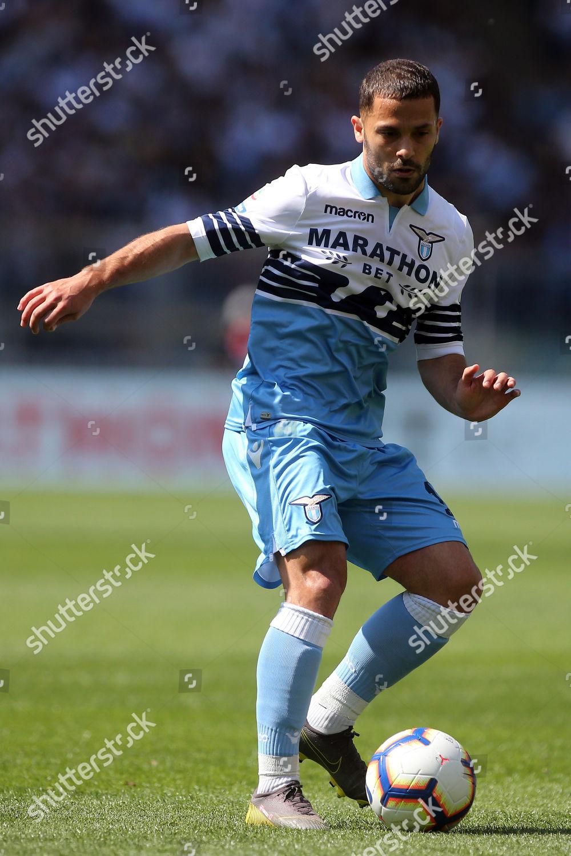 Milan Badelj Lazio action Foto editorial en stock