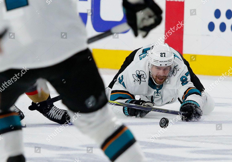 San Jose Sharks Right Wing Joonas Donskoi Editorial Stock Photo