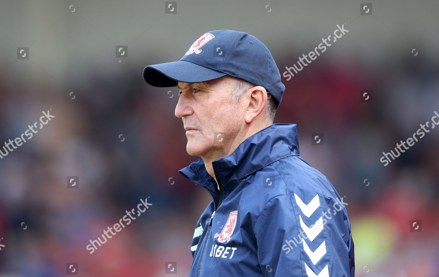 Middlesbrough Manager Tony Pulis Editorial Stock Photo