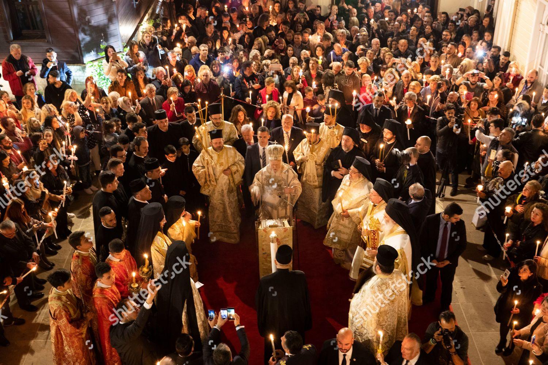 Ecumenical patriarch Bartholomew C spiritual leader Greek