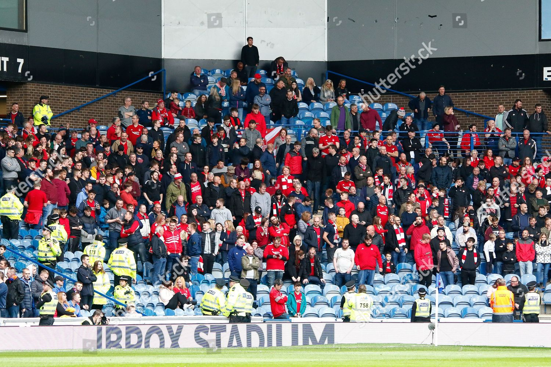 Aberdeen fans have arrived Ladbrokes Scottish Premiership