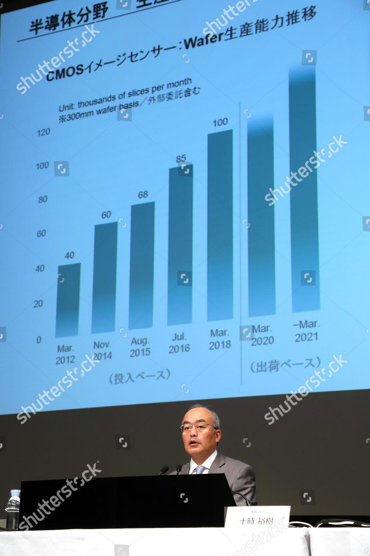 CFO Hiroki Totoki Editorial Stock Photo - Stock Image