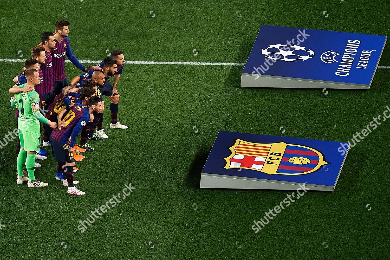 49b256e9c98 FC Barcelona team group Editorial Stock Photo - Stock Image ...
