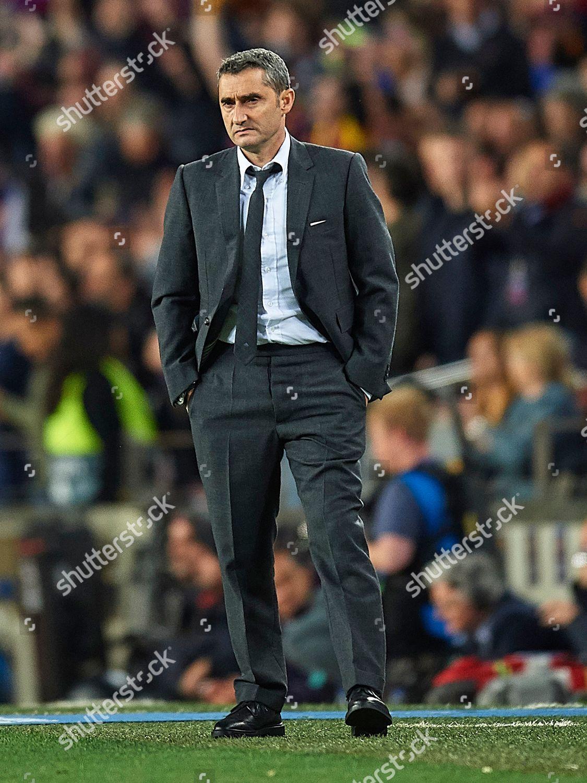 Fc Barcelona Manager Ernesto Valverde Editorial Stock Photo Stock Image Shutterstock