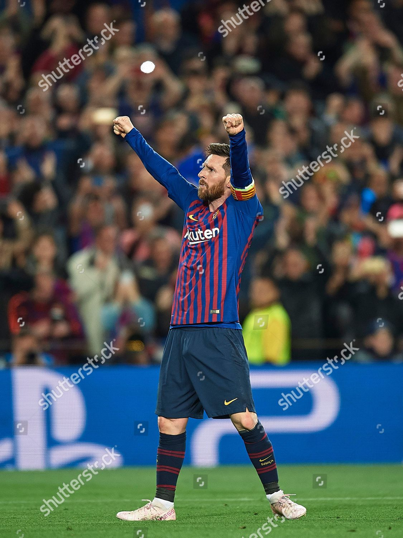 a30d3d84915 Lionel Messi FC Barcelona celebrates 30 Editorial Stock Photo ...