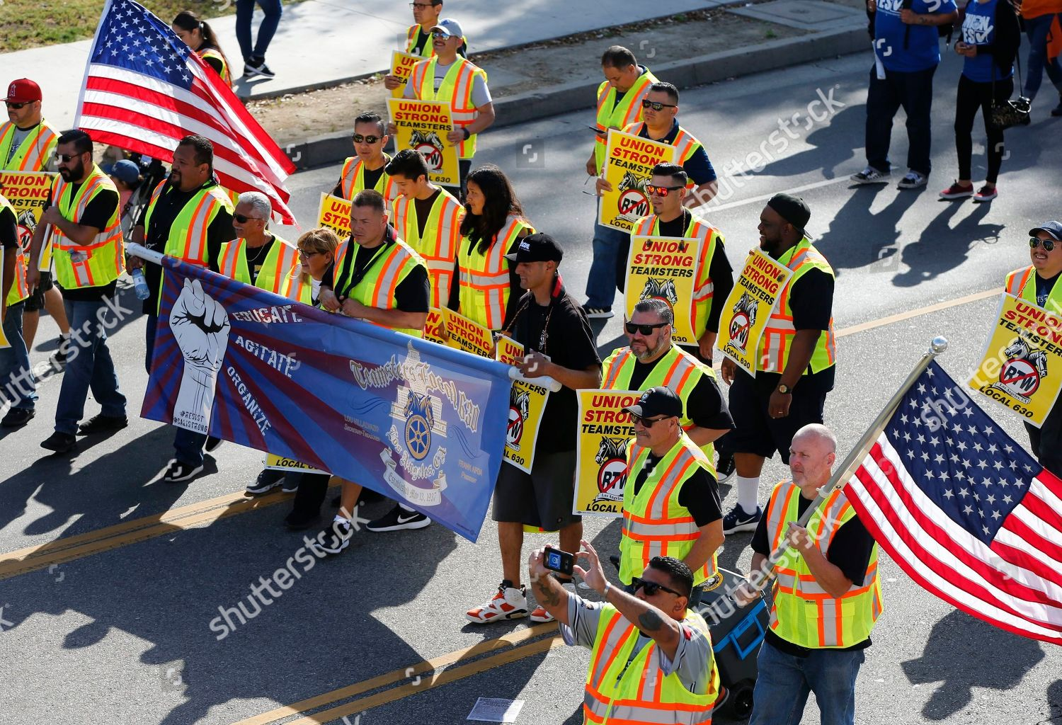 Members Teamsters Local 630 join thousands workers Editorial