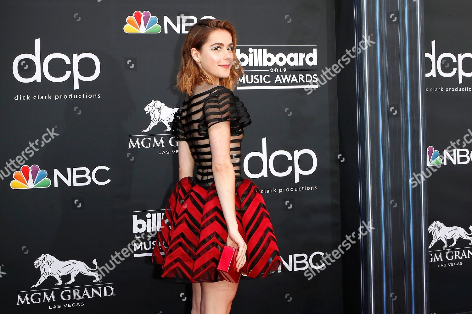 Kiernan Shipka arrives 2019 Billboard Music Awards Editorial