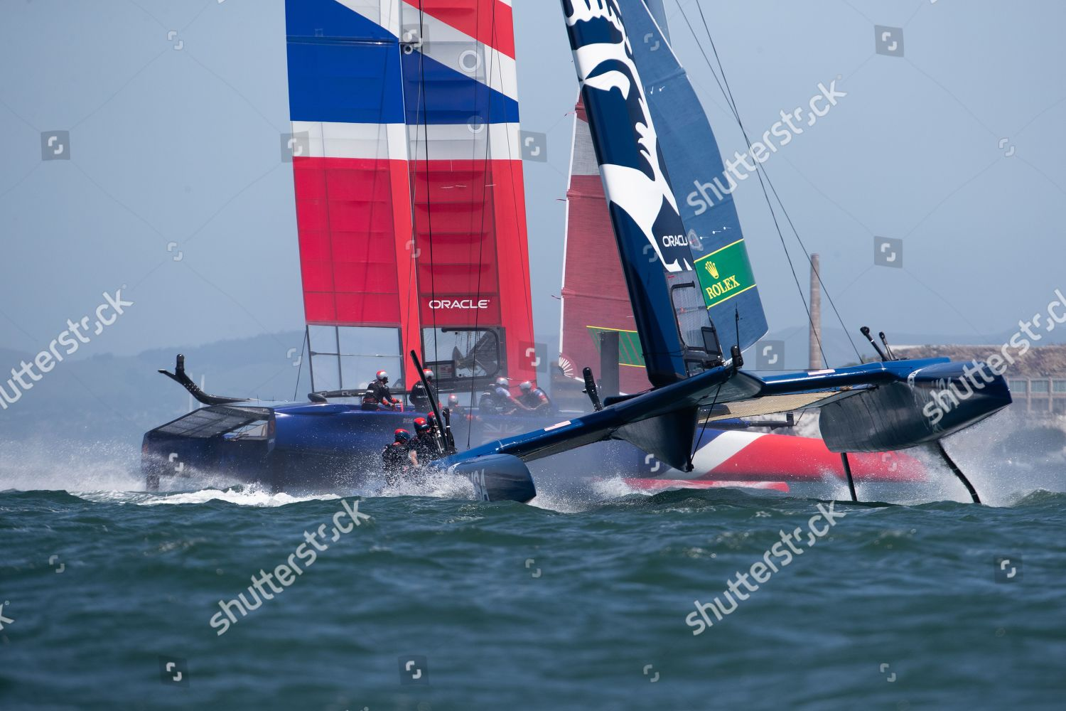 United States SailGP Team skippered by Rome Editorial Stock Photo