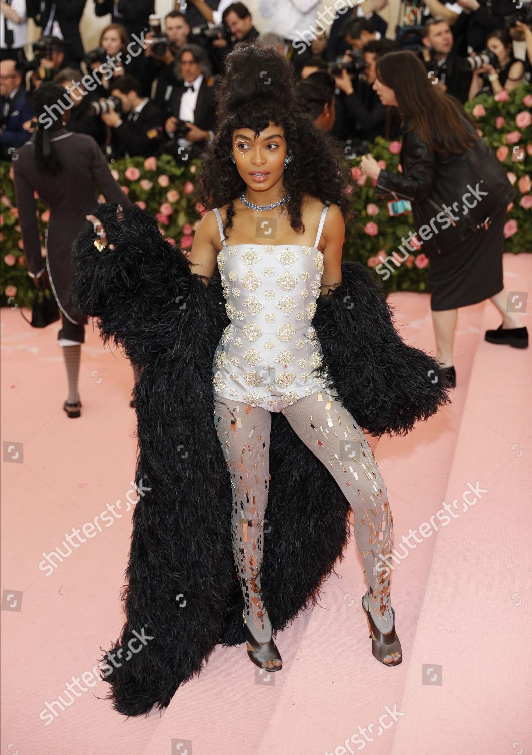 Yara Shahidi Arrives On Red Carpet 2019 Editorial Stock Photo Stock Image Shutterstock