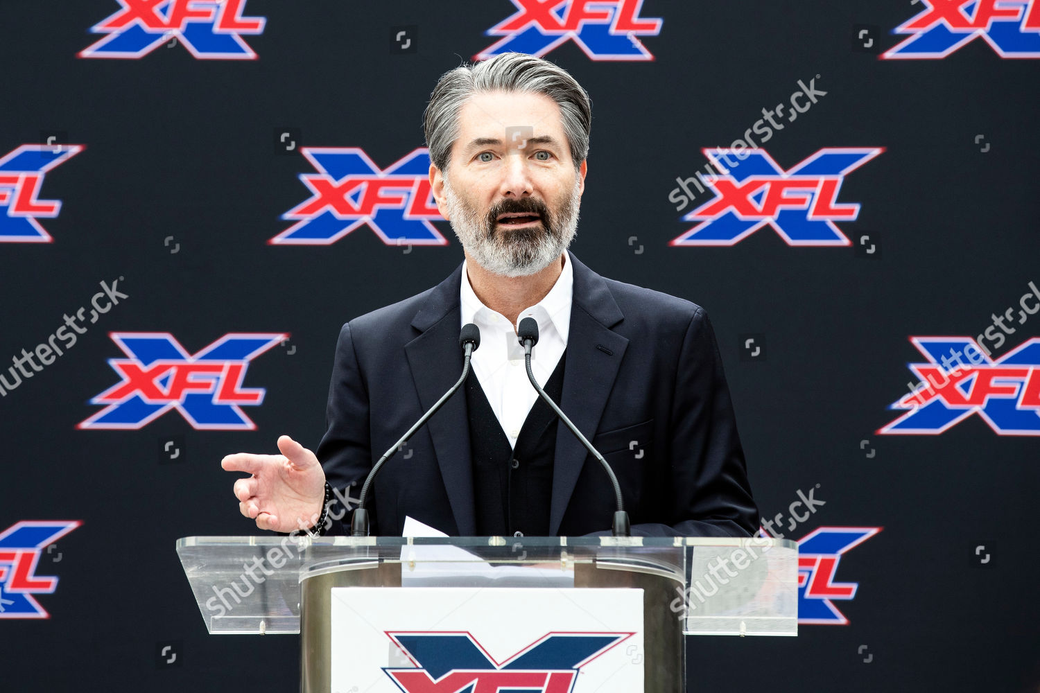 XFL president and CEO Jeffery Pollack