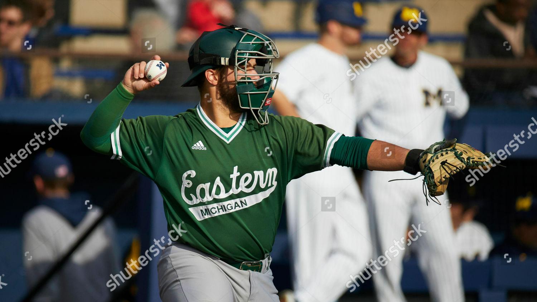 Alex Wolanski makes throw during Eastern Michigan Editorial