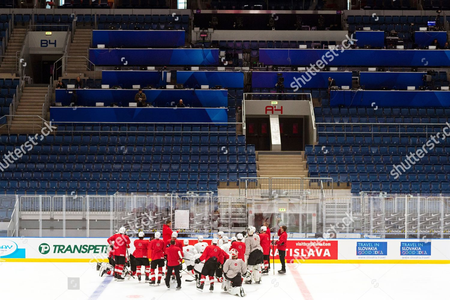 Players Switzerland Attend Their Teams Training Session Editorial