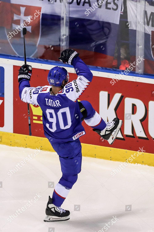 Tomas Tatar Slovakia Celebrates His Goal During Editorial Stock Photo Stock Image Shutterstock