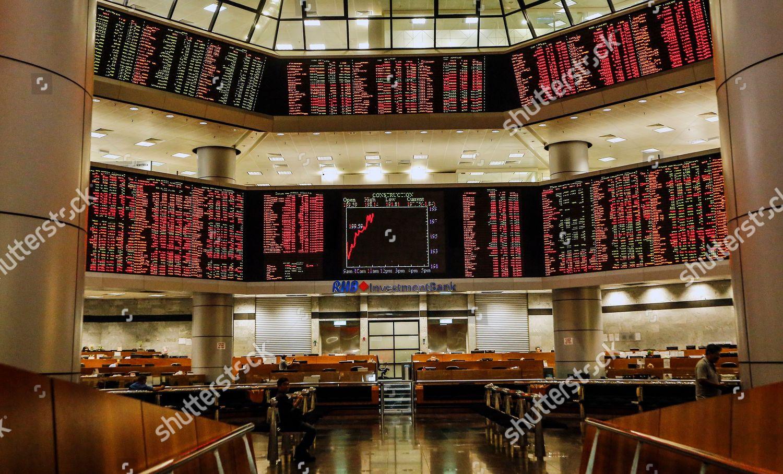 view empty trading gallery Kuala Lumpur Malaysia Editorial Stock