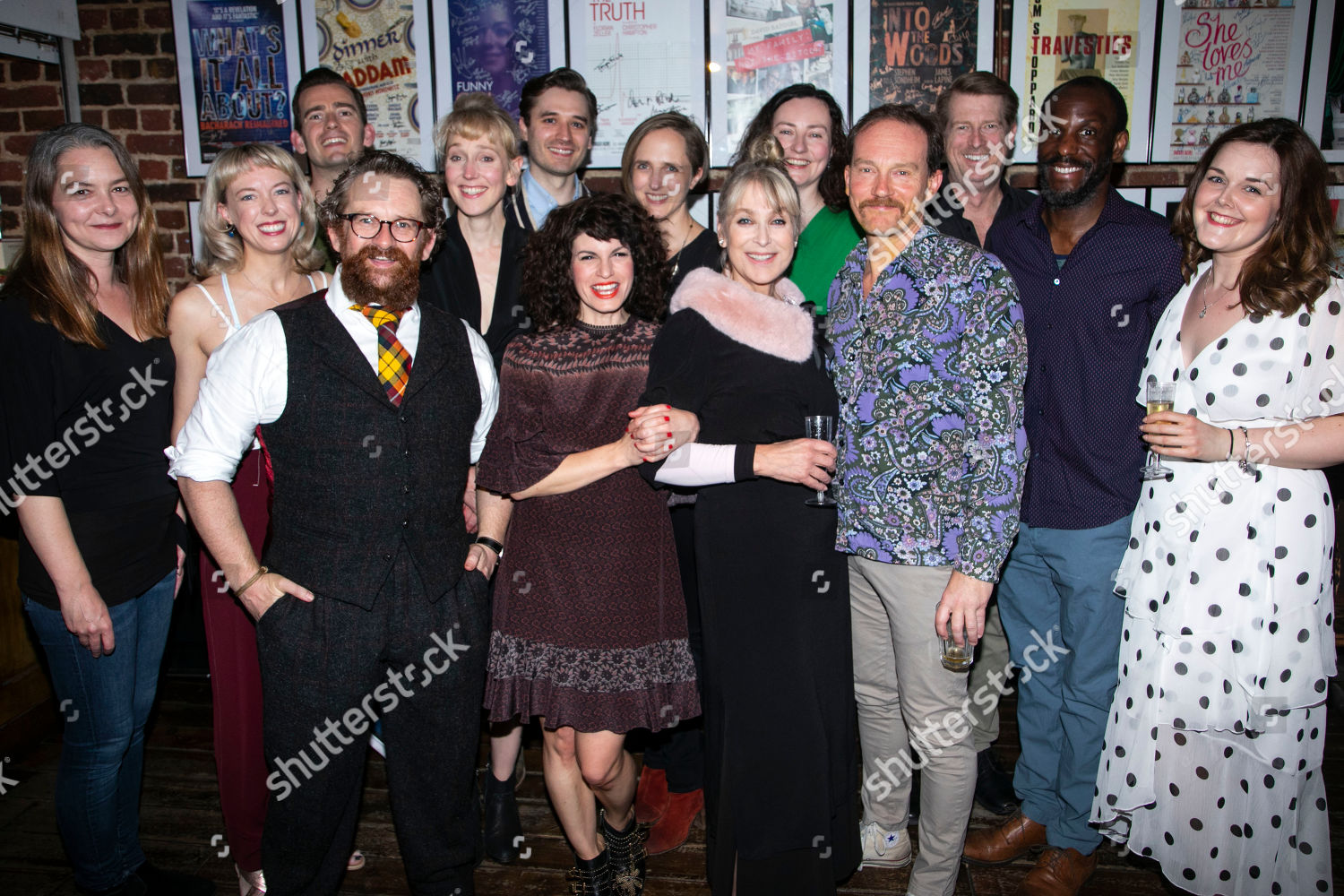 Stock photo of 'Orpheus Descending' party, Press Night, London, UK - 15 May 2019