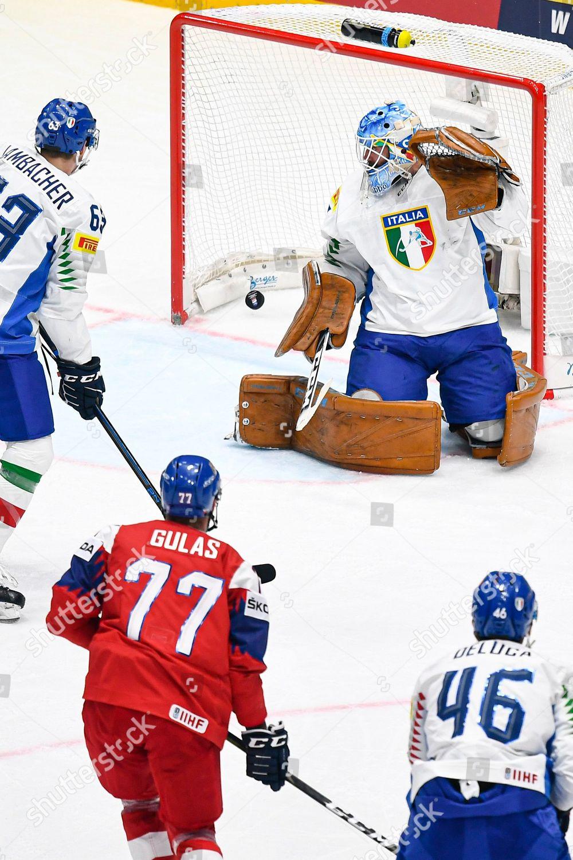 Milan Gulas Czech Republic Scores Goal During Editorial Stock Photo