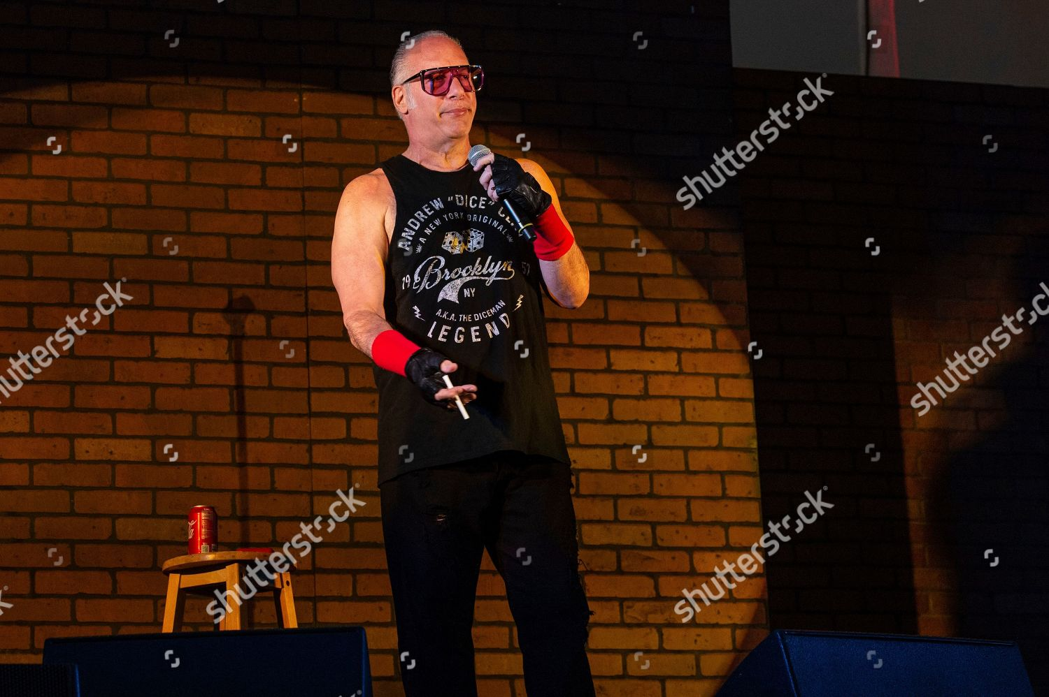 Andrew Dice Clay performs Sonic Temple Art Editorial Stock