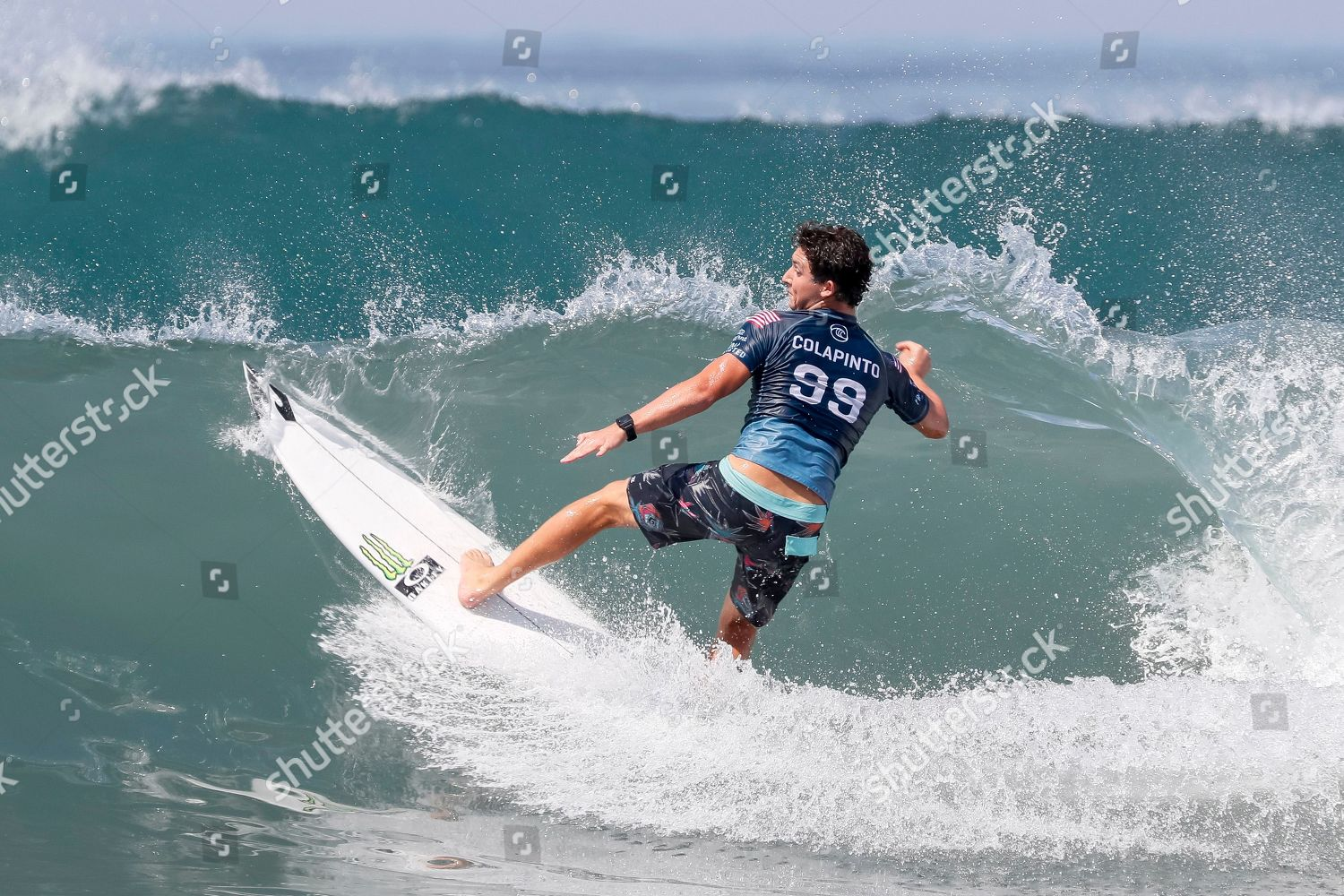 Griffin Colapinto USA action during round 32 Editorial Stock