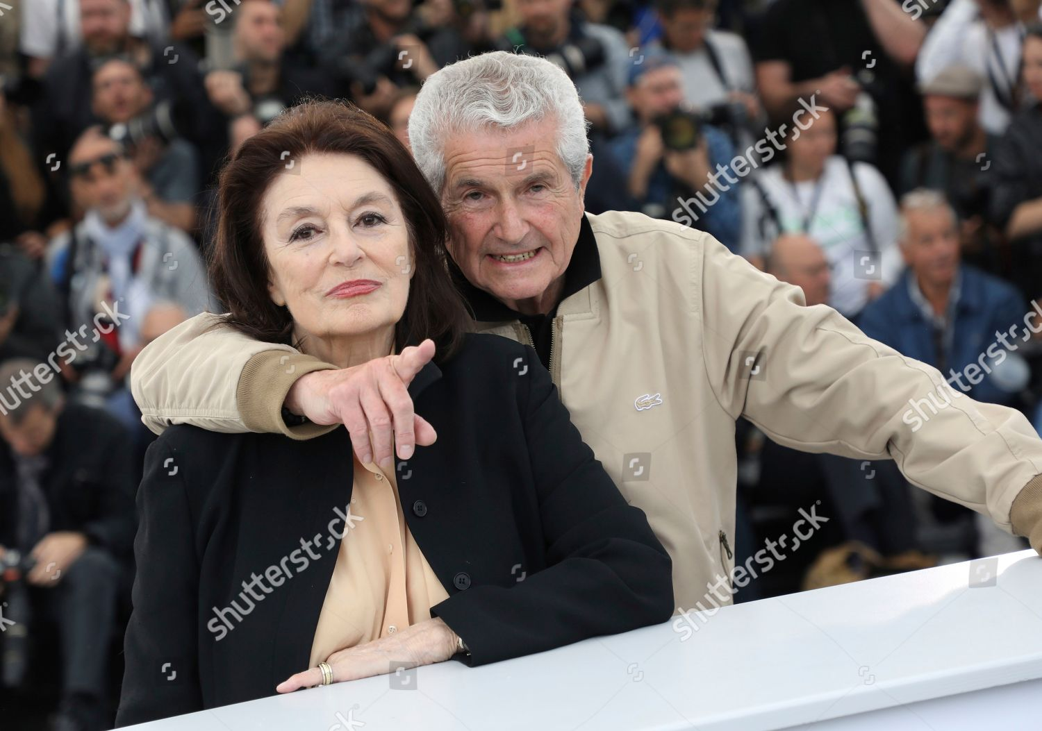Anouk Aimee Claude Lelouch Director Anouk Aimee Editorial Stock Photo Stock Image Shutterstock The Best Years of a Life