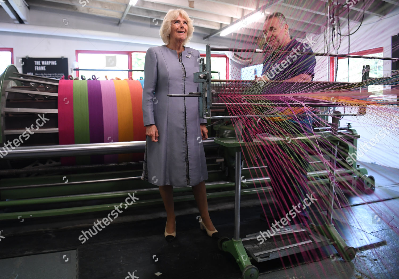 Camilla Duchess Cornwall Visits Avoca Mill County Editorial Stock Photo Stock Image Shutterstock