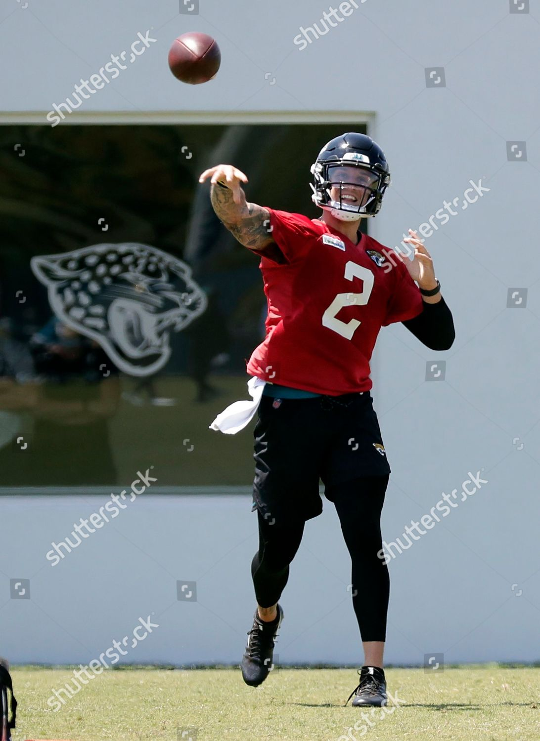 new product f6db2 2aeea Jacksonville Jaguars quarterback Alex McGough throws pass ...