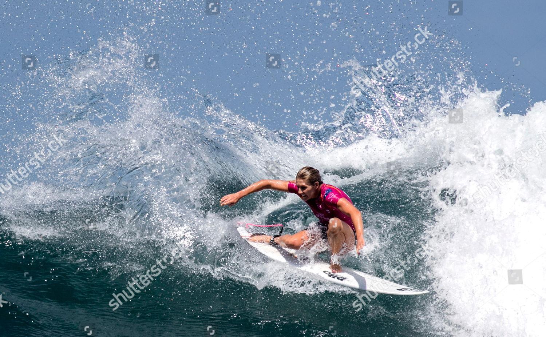 Australian Stephanie Gilmore action during womens quarter