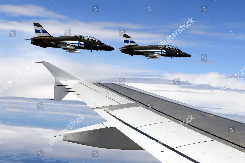 Midnight Hawks Finnish Airforce escort Golden Flight