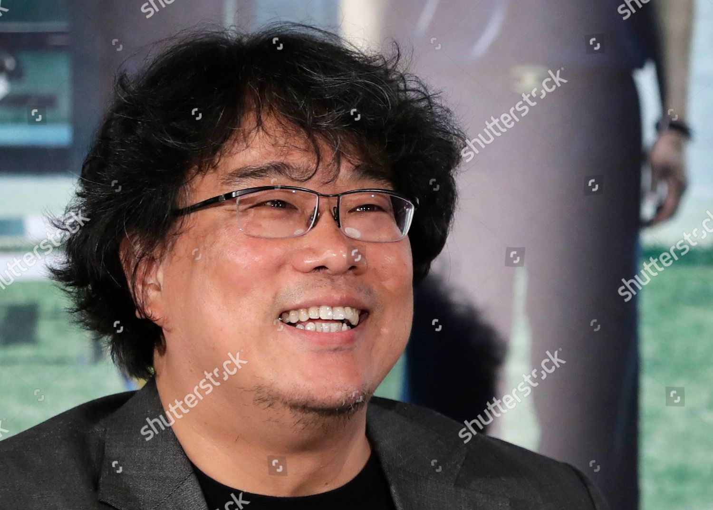 South Korean director Bong Joonho speaks during Editorial Stock