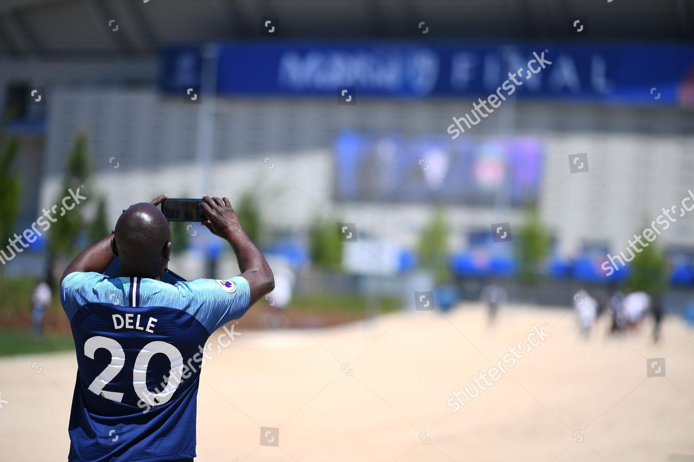 Fan Wearing Replica Shirt Dele Alli Tottenham Editorial Stock Photo Stock Image Shutterstock