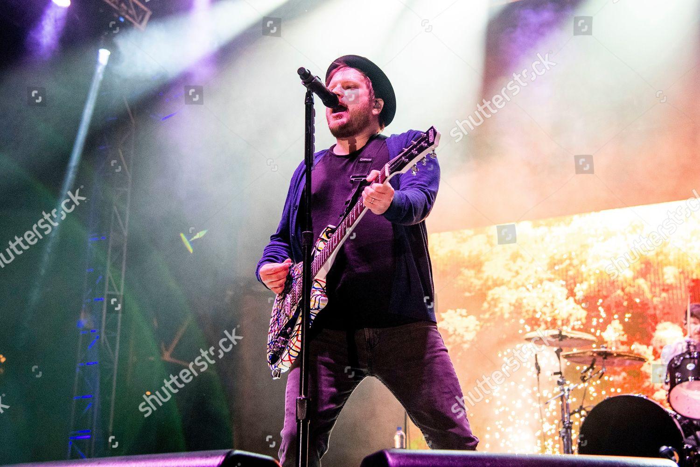 Patrick Stump Fall Out Boy performs Bunbury Editorial Stock