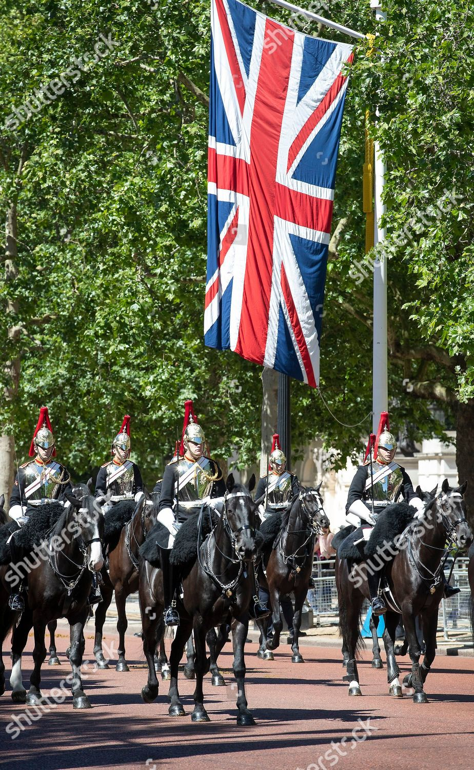 Trooping Colour Colonels Review takes place Mall Editorial