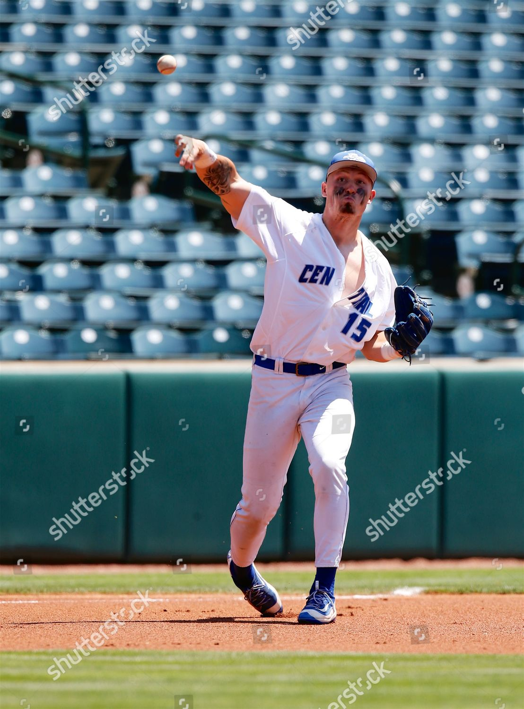 Buddy Dewaine 15 Blue Devil third baseman Editorial Stock