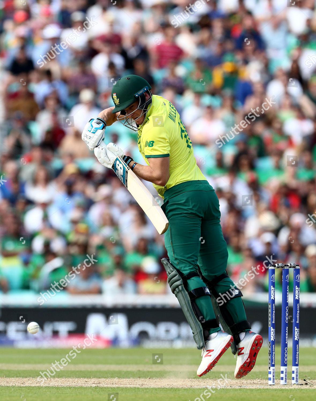 David Miller South Africa batting action Editorial Stock Photo
