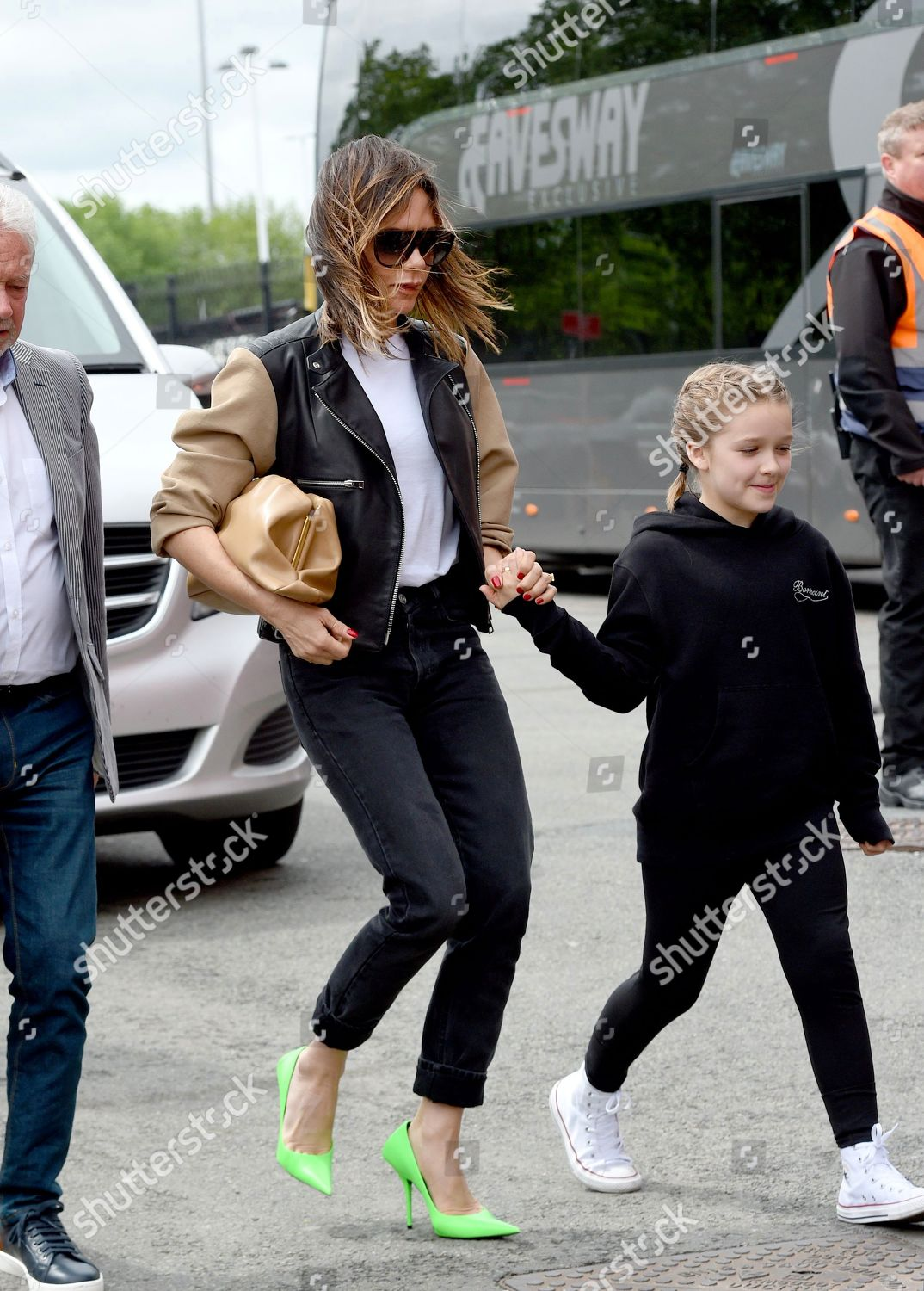 Victoria Beckham Harper Beckham Editorial Stock Photo - Stock Image