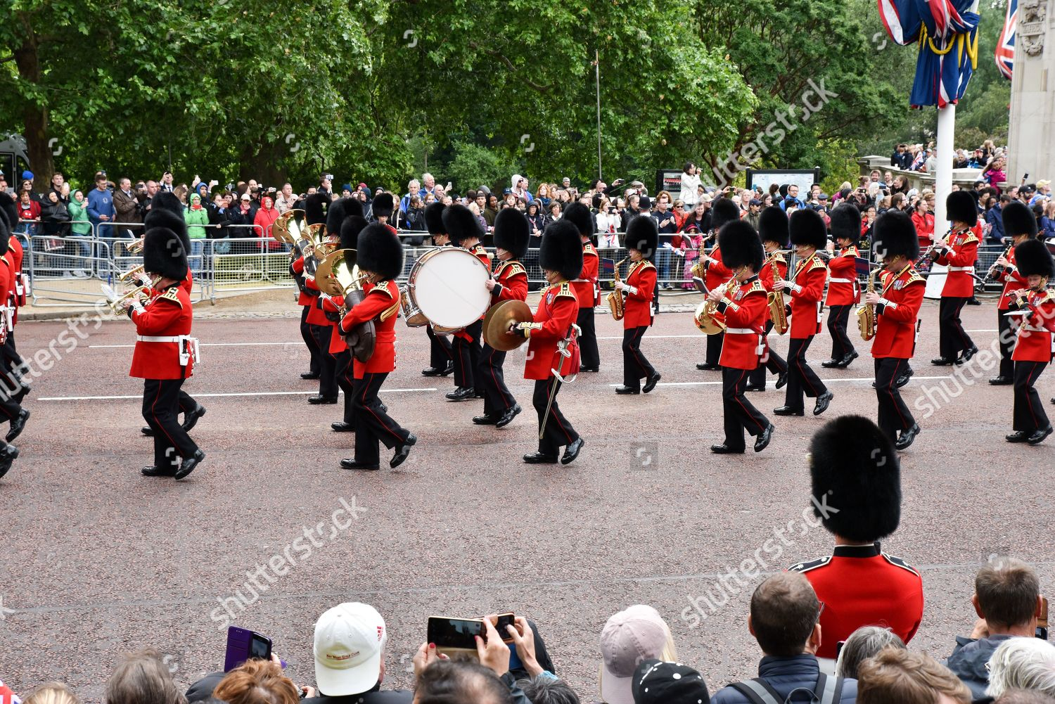 Trooping Colour parade marking Queens official birthday