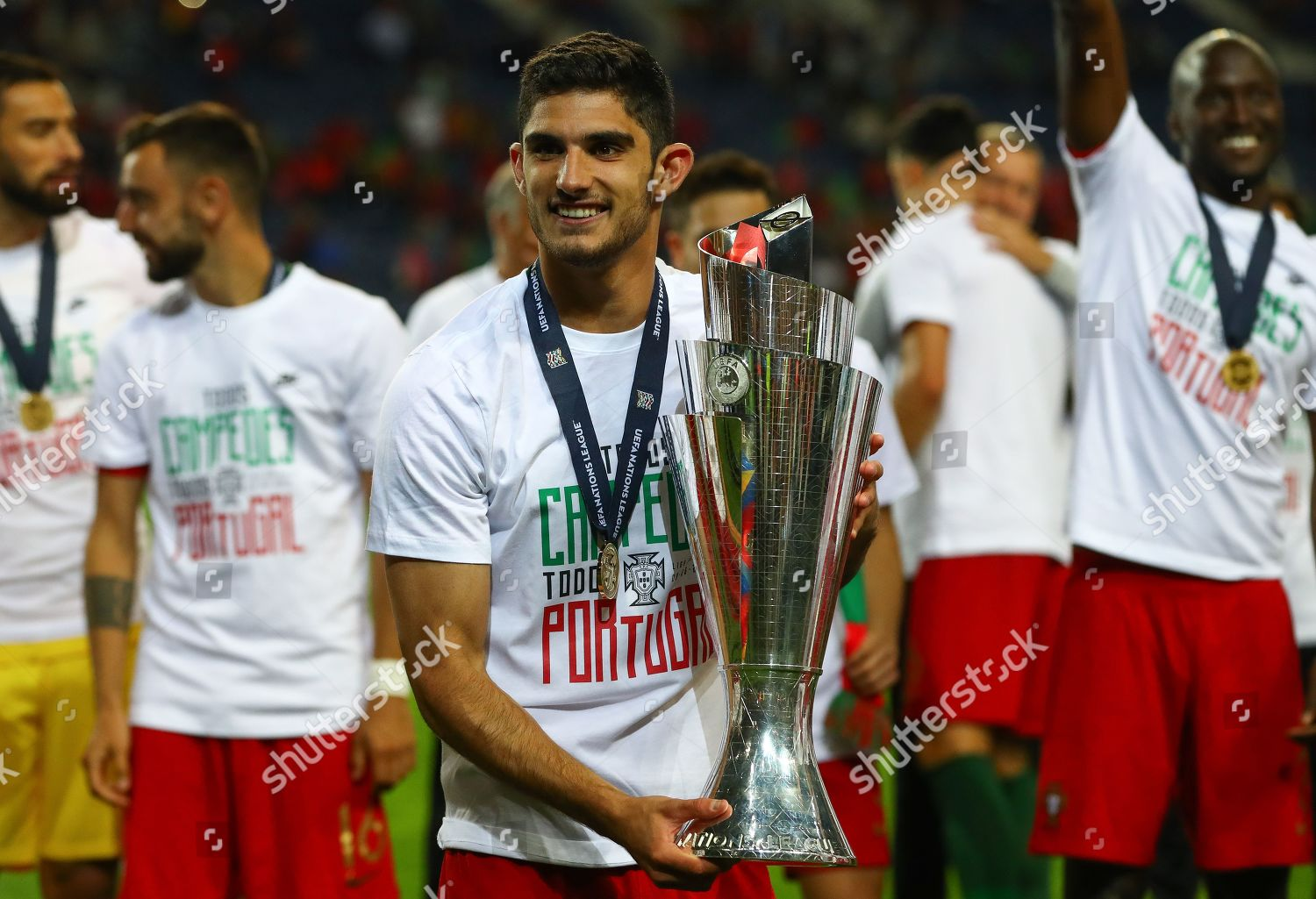 Goncalo Guedes Portugal Celebrates Uefa Nations League Editorial Stock Photo Stock Image Shutterstock