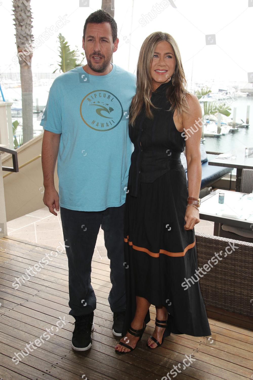 Adam Sandler Jennifer Aniston Editorial Stock Photo - Stock