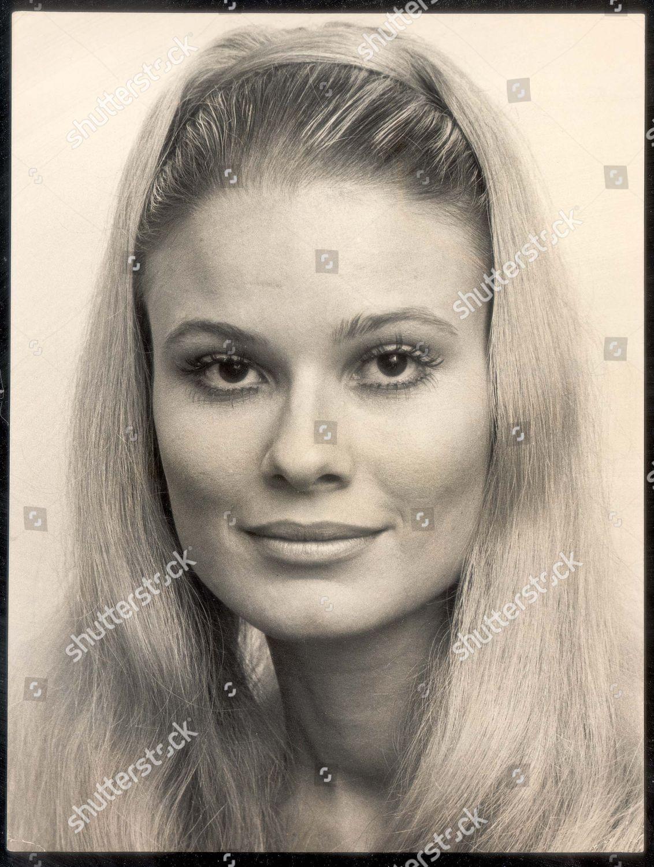 Richard Burton 4th Wife Suzy Miller 1971 Editorial Stock Photo