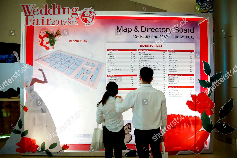 couple looks list exhibitors Wedding Fair by Editorial Stock