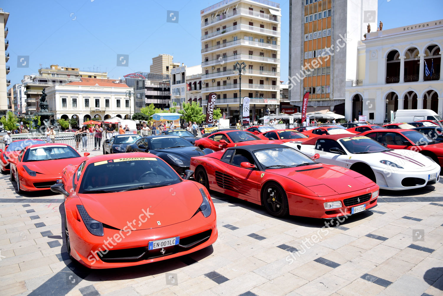 Some Forty Ferrari Cars Participating Ferrari Owners Editorial Stock Photo Stock Image Shutterstock